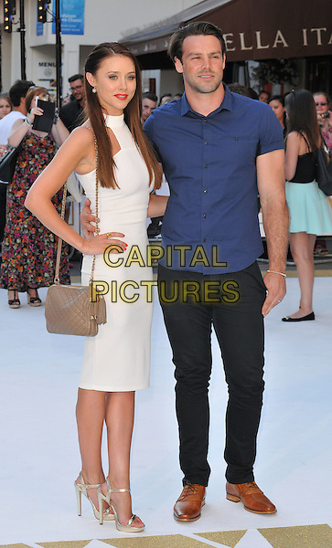 LONDON, ENGLAND - JUNE 30: Una Healy &amp; Ben Foden attend the &quot;Magic Mike XXL&quot; UK film premiere, Vue West End cinema, Leicester Square, on Tuesday June 30, 2015 in London, England, UK. <br /> CAP/CAN<br /> &copy;CAN/Capital Pictures