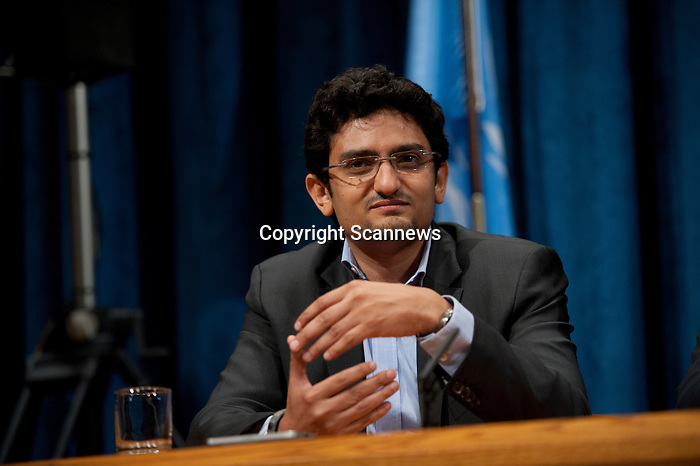 """Press Conference on the the United Nations Economic and Social Council (ECOSOC) Youth Forum, with the theme, """"Shaping Tomorrow's Innovators: Leveraging Science, Technology, Innovation and Culture for Today's Youth?, moderated by Mr. Martin Nesirky, Spokesperson of the Secretary-General...Speakers: H.E. Mr. Néstor Osorio, President of ECOSOC; Mr. Ahmad Alhendawi, Envoy of the Secretary-General on Youth; Ms. Stacy Martinet, Chief Marketing Officer, Mashable.com; and Mr. Wael Ghonim, Internet activist and computer engineer. ."""