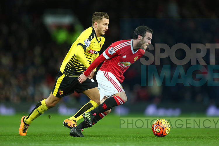 Juan Mata of Manchester United - Barclay's Premier League - Manchester United vs Watford - Old Trafford - Manchester - 02/03/2016 Pic Philip Oldham/SportImage
