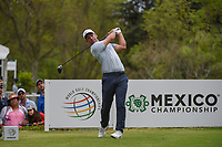 Paul Casey (GBR) watches his tee shot on 18 during round 4 of the World Golf Championships, Mexico, Club De Golf Chapultepec, Mexico City, Mexico. 2/24/2019.<br /> Picture: Golffile | Ken Murray<br /> <br /> <br /> All photo usage must carry mandatory copyright credit (© Golffile | Ken Murray)