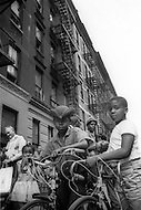 Bronx, New York City, NY - Summer of 1966 <br /> On Fox Street in the Bronx, street scene.