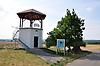Weinbergsturm und Gedenkstein am Lörzweiler Königstuhl (Wingertsturm am Loerzweiler Koenigstuhl)