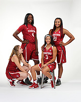 Stanford, CA - September 20, 2017:  Stanford Women's Basketball Photo Day at Arrillaga Gymnasium.
