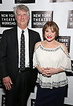 Matthew Johnston and Patti LuPone attend New York Theatre Workshop's 2017 Spring Gala at the Edison Ballroom on May 15, 2017 in New York City.