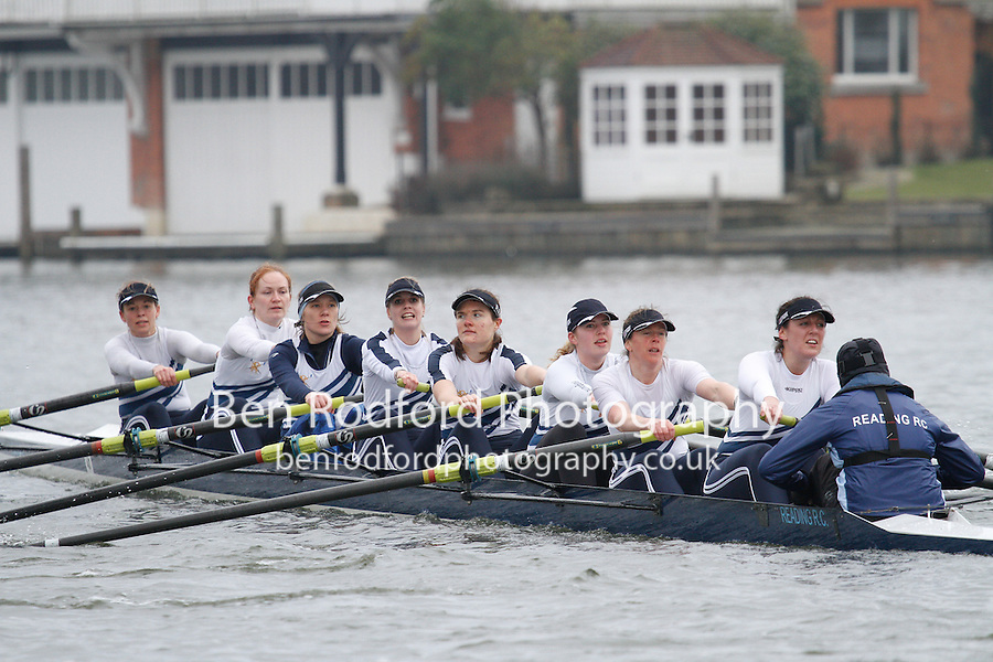 Crew: 46 - Reading RC  - W.IM3.8+ <br /> <br /> Henley Fours &amp; Eights Head 2017<br /> <br /> To purchase this photo, or to see pricing information for Prints and Downloads, click the blue 'Add to Cart' button at the top-right of the page.