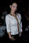 01.09.2012. Celebrities attending the Juanjo Oliva fashion show during the Mercedes-Benz Fashion Week Madrid Spring/Summer 2013 at Ifema. In the image Cristina Brondo (Alterphotos/Marta Gonzalez)
