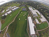 2014 Ryder Cup Aerial views of build and Gleneagles