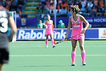 The Hague, Netherlands, June 06: xxx during the field hockey group match (Women - Group B) between Germany and Argentina on June 6, 2014 during the World Cup 2014 at Kyocera Stadium in The Hague, Netherlands. Final score 0-3 (0-2) (Photo by Dirk Markgraf / www.265-images.com) *** Local caption ***