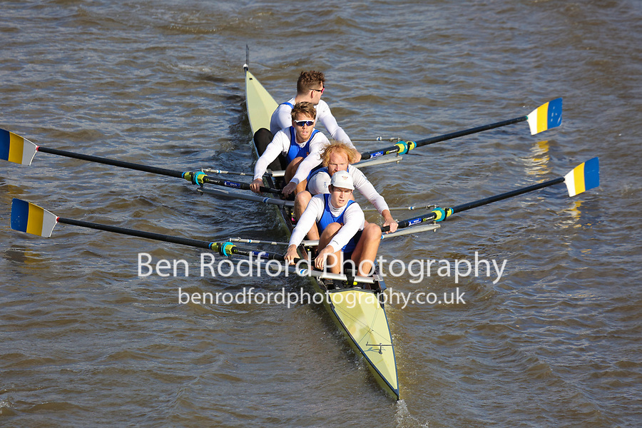 Crew: 33  BAU (B)  Bath University (W England)  4- Acad Champ<br /> <br /> Fours Head of the River 2018<br /> <br /> To purchase this photo, or to see pricing information for Prints and Downloads, click the blue 'Add to Cart' button at the top-right of the page.
