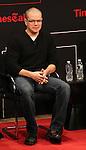 Matt Damon on stage at TimesTalks at the Times Center in New York City. November 27, 2012.