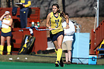 14 November 2015: Michigan's Shannon Scavelli. The Wake Forest University Demon Deacons played the University of Michigan Wolverines at Francis E. Henry Stadium in Chapel Hill, North Carolina in a 2015 NCAA Division I Field Hockey Tournament First Round match. Michigan won the game 2-1.