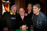 Jerry verDorn & Ron Raines  & Grant Aleksander & Jay Hammer - 11th Annual Daytime Stars & Strikes Event for Autism - 2015 on April 19, 2015 hosted by Guiding Light's Jerry ver Dorn (& OLTL) and Liz Keifer at Bowlmor Lanes Times Square, New York City, New York. (Photos by Sue Coflin/Max Photos)