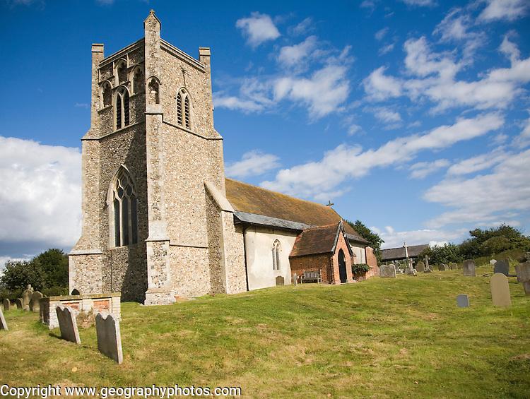 Parish church of St Mary, Friston, Suffolk, England, UK