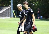 Carlos Salcedo (Eintracht Frankfurt) und Lucas Torro (Eintracht Frankfurt) - 26.07.2018: Eintracht Frankfurt Mannschaftsfoto, Commerzbank Arena