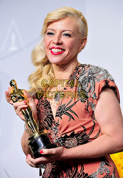 HOLLYWOOD, CA - MARCH 2: Catherine Martin in the press room at the 2014 Oscars at the Hollywood and Highland Center in Hollywood, California. March 2, 2014. <br /> CAP/MPI/COR99<br /> &copy;COR99/MediaPunch/Capital Pictures