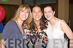CLASS REUNION: Enjoying the Presentation, Tralee Class of 1990 reunion at the Grand hotel, Tralee on Saturday l-r: Elaine Boyle, Sinead Hussey and Marie Scanlon.