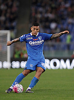 Calcio, Serie A: Roma vs Empoli. Roma, stadio Olimpico, 17 ottobre 2017.<br /> Empoli's Leandro Paredes in action during the Italian Serie A football match between Roma and Empoli at Rome's Olympic stadium, 17 October 2015.<br /> UPDATE IMAGES PRESS/Isabella Bonotto