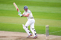PICTURE BY VAUGHN RIDLEY/SWPIX.COM - Cricket - County Championship Div 2 - Yorkshire v Kent, Day 3 - Headingley, Leeds, England - 07/04/12 - Yorkshire's Jonny Bairstow hits out.
