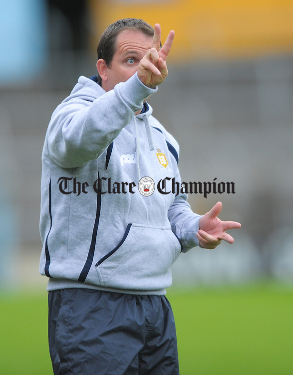Clare manager Davy Fitzgerald during the All-Ireland senior championship qualifier phase 3 game at Semple Stadium. Photograph by John Kelly.