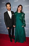 SAN DIEGO, CA - OCTOBER 18th: Lizzy Caplan, Tom Riley at the San Diego International Film Festival Night of the Stars at The Pendry hotel in San Diego, Ca on October 18, 2019. Credit: Tony Forte/MediaPunch