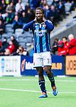 Stockholm 2014-04-06 Fotboll Allsvenskan Djurg&aring;rdens IF - Halmstads BK :  <br /> Djurg&aring;rdens Amadou Jawo<br /> (Foto: Kenta J&ouml;nsson) Nyckelord:  Djurg&aring;rden DIF Tele2 Arena Halmstad HBK portr&auml;tt portrait