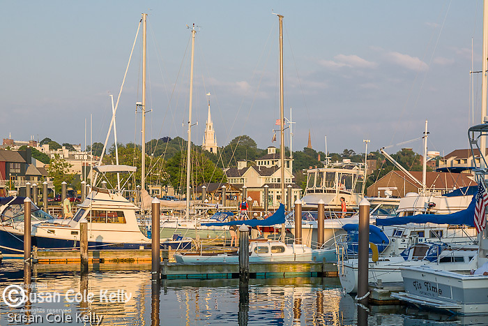 Newport waterfront, Newport, Narragansett Bay, RI