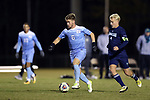 CARY, NC - NOVEMBER 19: North Carolina's Cam Lindley. The University of North Carolina Tar Heels hosted the UNCW Seahawks on November 19, 2017 at Koka Booth Stadium in Cary, NC in an NCAA Division I Men's Soccer Tournament Second Round game. UNC won the game 2-1.