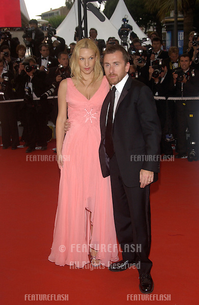 TIM ROTH & date at the awards gala for the 57th Cannes Film Festival..May 22, 2004
