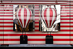 LV Hot Air Balloons 04 - Louis Vuitton shopfront display window, King Street, Perth, Western Australia.