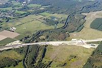 Deutschland, Schleswig- Holstein, Luebeck, Ostseeautobahn, A20, Wakenitz