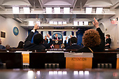 March 31, 2020 - Washington, DC, United States: United States President Donald J. Trump participates in a news briefing by members of the Coronavirus Task Force at the White House.<br /> Credit: Chris Kleponis / Pool via CNP