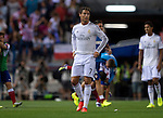 7   Real Madrid's Portuguese forward Cristiano Ronaldo<br />  during the Spanish Super Cup first leg football match Club Atletico de Madrid vs Real Madrid CF at the Manzanares stadium in Madrid on August 22, 2014. PHOTOCALL3000/ DP
