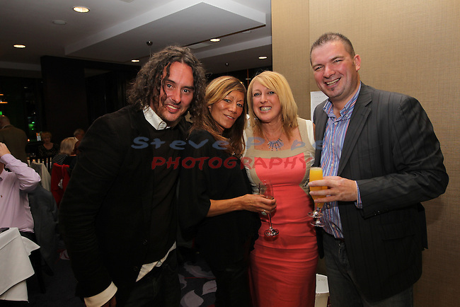 Ty Hafan Celebrity Chef.Tim Rice, Anna Ryder Richardson, Helen Groom & Frank Ady..Maldron Hotel.26.09.12.©Steve Pope