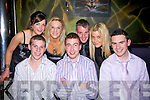 n good sprits at the ceislus cup victory social at the Cliff House Hotel on saturday night were Darren Russell, Conor Coughlan, Paul O' Carroll, Aisling O' Sullivan, Siobha?n Breen, James Kelly and Emmer Collins....   Copyright Kerry's Eye 2008