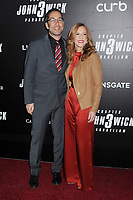 "Jeff G. Waxman and guest at the World Premiere of ""John Wick: Chapter 3 Parabellum"", held at One Hanson in Brooklyn, New York, USA, 09 May 2019"