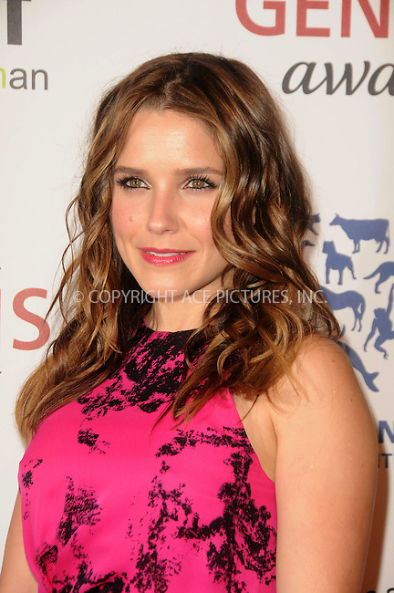 WWW.ACEPIXS.COM . . . . .  ....March 24 2012, LA....Sophia Bush arriving at the 26th Annual Genesis Awards at The Beverly Hilton Hotel on March 24, 2012 in Beverly Hills, California. ....Please byline: PETER WEST - ACE PICTURES.... *** ***..Ace Pictures, Inc:  ..Philip Vaughan (212) 243-8787 or (646) 769 0430..e-mail: info@acepixs.com..web: http://www.acepixs.com