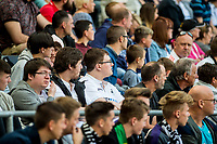 Swansea City fans during the Premier League match between Swansea City and West Bromwich Albion at The Liberty Stadium, Swansea, Wales, UK. Sunday 21 May 2017 (Photo by Athena Pictures/Getty Images)