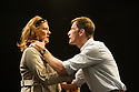 London, UK. 09.11.2012. Anton Chekhov's THE SEAGULL, in a new version by Anya Reiss, opens at Southwark Playhouse. Picture shows: Julia St. John (Polina) and Anthony Howell (Trigorin). Photo credit: Jane Hobson.