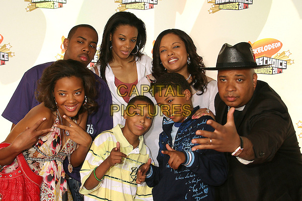 JOSEPH SIMMONS & FAMILY.Nickelodeon's 20th Annual Kids' Choice Awards at UCLA's Pauley Pavilion, Westwood, California , USA,  .31 March 2007..half length reverend funny hands pose.CAP/ADM/BP.©Byron Purvis/AdMedia/Capital Pictures.