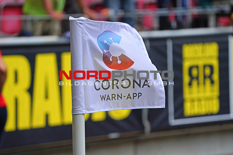 Fussball - 1. BL - 1. FSV Mainz 05 - SV Werder Bremen - 20.06.2020,<br />v.l.<br /><br />Bildnachweis: hasan bratic/rscp-photo<br /><br />DFL regulations prohibit any use of photographs as image sequences and/or quasi-video.<br />EDITORIAL USE ONLY.<br />National and international News-Agencies OUT.<br /><br /><br />  DFL REGULATIONS PROHIBIT ANY USE OF PHOTOGRAPHS AS IMAGE SEQUENCES AND OR QUASI VIDEO<br /> EDITORIAL USE ONLY<br /> NATIONAL AND INTERNATIONAL NEWS AGENCIES OUT