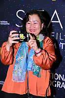 "NEW YORK - NOVEMBER 14: Bolor Minjin attends the National Geographic ""StarTalk: Live from the Beacon Theatre"" taping on November 14, 2018 in New York City. (Photo by Anthony Behar/National Geographic/PictureGroup)"
