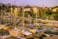 Old Harbor, Antalya, Turkey