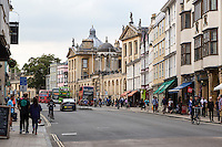 UK, England, Oxford.  Queen's College, High Street.