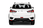 Straight rear view of a 2020 Mitsubishi ASX Intense 5 Door SUV stock images