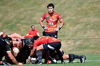 Kenki FUKUOKA (福岡 堅樹) in action during the Hurricanes Hinters v Wolfpack at Jerry Collins Stadium, Porirua, New Zealand on Friday 29 March 2019. <br /> Photo by Masanori Udagawa. <br /> www.photowellington.photoshelter.com