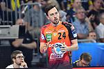 Rhein Neckar Loewe Patrick Groetzki (Nr.24) am Ball beim Spiel in der Champions League, Rhein Neckar Loewen - Barca Lassa.<br /> <br /> Foto &copy; PIX-Sportfotos *** Foto ist honorarpflichtig! *** Auf Anfrage in hoeherer Qualitaet/Aufloesung. Belegexemplar erbeten. Veroeffentlichung ausschliesslich fuer journalistisch-publizistische Zwecke. For editorial use only.