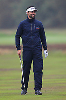 Lee Slattery (ENG) on the 2nd fairway during Round 4 of the Sky Sports British Masters at Walton Heath Golf Club in Tadworth, Surrey, England on Sunday 14th Oct 2018.<br /> Picture:  Thos Caffrey | Golffile<br /> <br /> All photo usage must carry mandatory copyright credit (&copy; Golffile | Thos Caffrey)