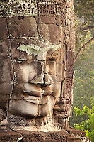 The true signifigance of the smiling faces of the Bayon temple, thought to depict an ancient bodhisattva, remain a mystery