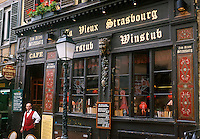"Europe/France/Alsace/67/Bas-Rhin/Strasbourg: Winstub ""Le Vieux Strasbourg"""