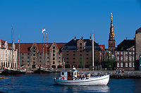 Daenemark, Kopenhagen, Vor FrelsersKirke in Christianshavn